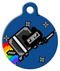 image: Ninja Nyan Cat Tag for Pets