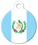 image: Guatamalan National Flag Dog or Cat ID Tag