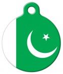 image: National Flag of Pakistan Pet ID Tag