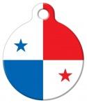 image: Panama National Flag Dog or Cat ID