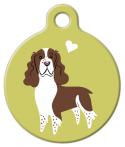 image: English Springer Spaniel Doggie Tag