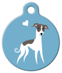 image: Whippet Doggie ID Tag