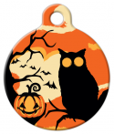 image: Spooky Lupine Pattern Pet Tag