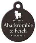 image: Abarkrombie & Fetch New Yorkie Tag