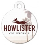 image: Howlister Colliefornia Pet ID Tag
