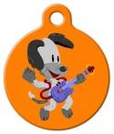 image: Rockin' Scooter Pet ID Tag