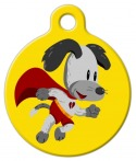 image: Super Scooter 2 Pet Tag