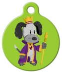 image: King Scooter Dog Tag for Dogs