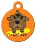 image: The Cat Did It! ID Tag