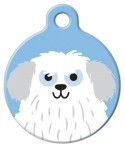 image: Sheep Dog Boy ID Tag