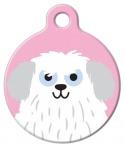 image: Sheep Dog Girl ID Tag