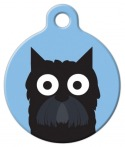 image: Scottish Terrier Boy ID Tag for Dogs