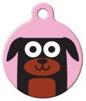 image: Rottweiler Girl Dog ID Tag