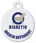 image: Diabetic Alert Dog Medical ID Tag