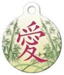 Asian Love Designer Pet Tag
