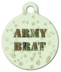 A tag for every pet who is proud of their parent fighting for our nation