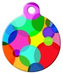 Circle Frenzy Pet ID Tag
