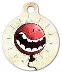 image:Happy Balloon Pet ID Tag