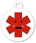 Cute medical alert tag