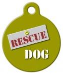 Rescue Dog ID Tag