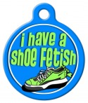 Shoe Fetish Dog Tag for Dogs