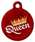 image: Classy Queen Dog ID Tag