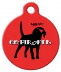 image: Co-Pirate Pet ID Tag