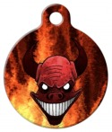 Image: Demon Dog ID Tag