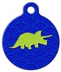 image: Dino Pet ID Tag
