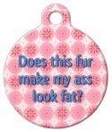 Fat Ass Pet ID Tag