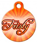 image: Feisty Dog ID Tag