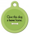 image: Give This Dog a Home Pet ID Tag