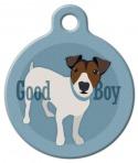 Good Boy Jack Russel Terrier Dog ID Tag