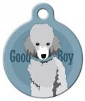 Image: Good Boy Toy Poodle Dog ID Tag