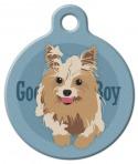 Good Boy Yorkshire Terrier Dog ID Tag