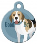 Image: Good Boy Beagle Dog ID Tag