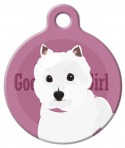 Good Girl - West Highland White Terrier Pet ID Tag