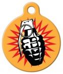 Image: Grenade Dog ID Tag