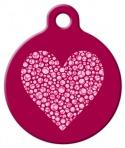 image: Valentine Heart Pet ID Tag