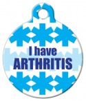 image: I Have Arthritis Dog Tag