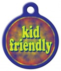 Image: Kid Friendly Dog Tag for Dogs