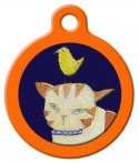 image: Kitty Close Up Cat ID Tag