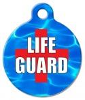 Image: Life Guard Dog ID Tag