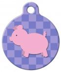 image: Lil Piggie Pet Tag ID