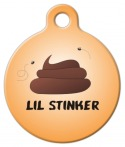 Image: Lil Stinker Dog Name Tag
