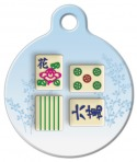 image: Mahjong Dog ID Tag