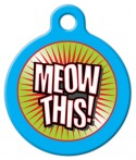 Image: Meow This! ID Tag