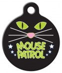 image: Mouse Patrol Cat ID Tag
