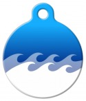 image: Ocean Custom Dog Tag
