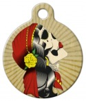 Old n' Tattered Designer Dog ID Tag